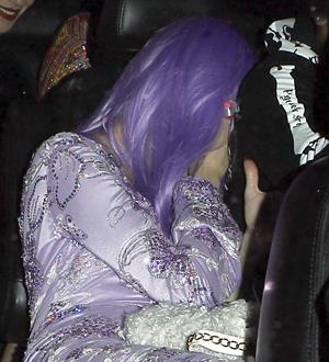 Miley Cyrus – Halloween Party candids in LA 10/31/13