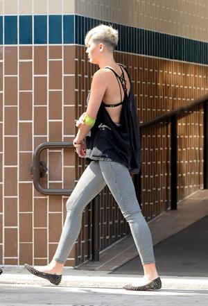 Miley Cyrus out and about in LA 10/9/12