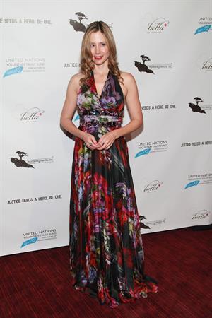 Mira Sorvino  Trade Of Innocents  New York Premiere - September 27, 2012