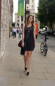 Mischa Barton at the opening of her new store  MISCHA BARTON  in SHOREDITCH, East London on August 8, 2012
