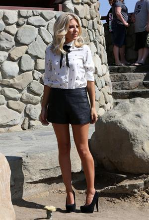Mollie King Photo shoot in the Hollywood Hills October 4, 2012