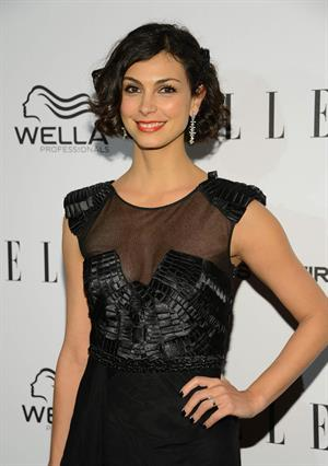 Morena Baccarin attends the ELLE's Women in Television Celebration at Soho House in West Hollywood January 24, 2013