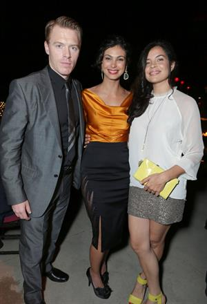 Morena Baccarin  Showtime 7th Annual Holiday Soiree in Beverly Hills  December 3, 2012