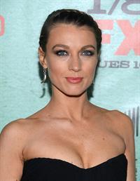 Natalie Zea FX Network's Justified Season 4 premiere in Hollywood 1/5/13