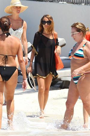 Nicole Richie Bikini candis at St Barts 06.04.13