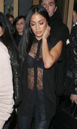 Nicole Scherzinger Leaves the Nobu Berkeley Restaurant in London 02.03.13