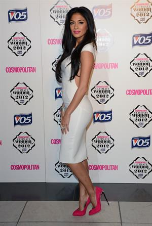 Nicole Scherzinger Cosmopolitan Ultimate Woman of the Year in London - 10/30/12