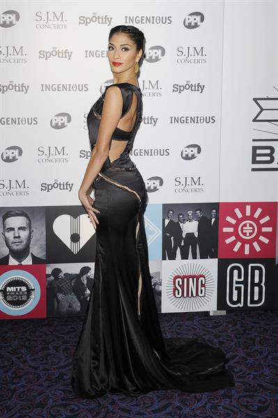 Nicole Scherzinger Music Industry Awards, London - November 5, 2012