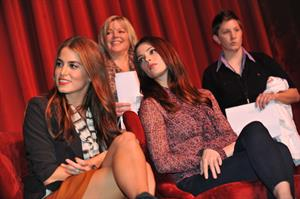 Nikki Reed and Ashley Greene in Los Angles on November 7, 2011