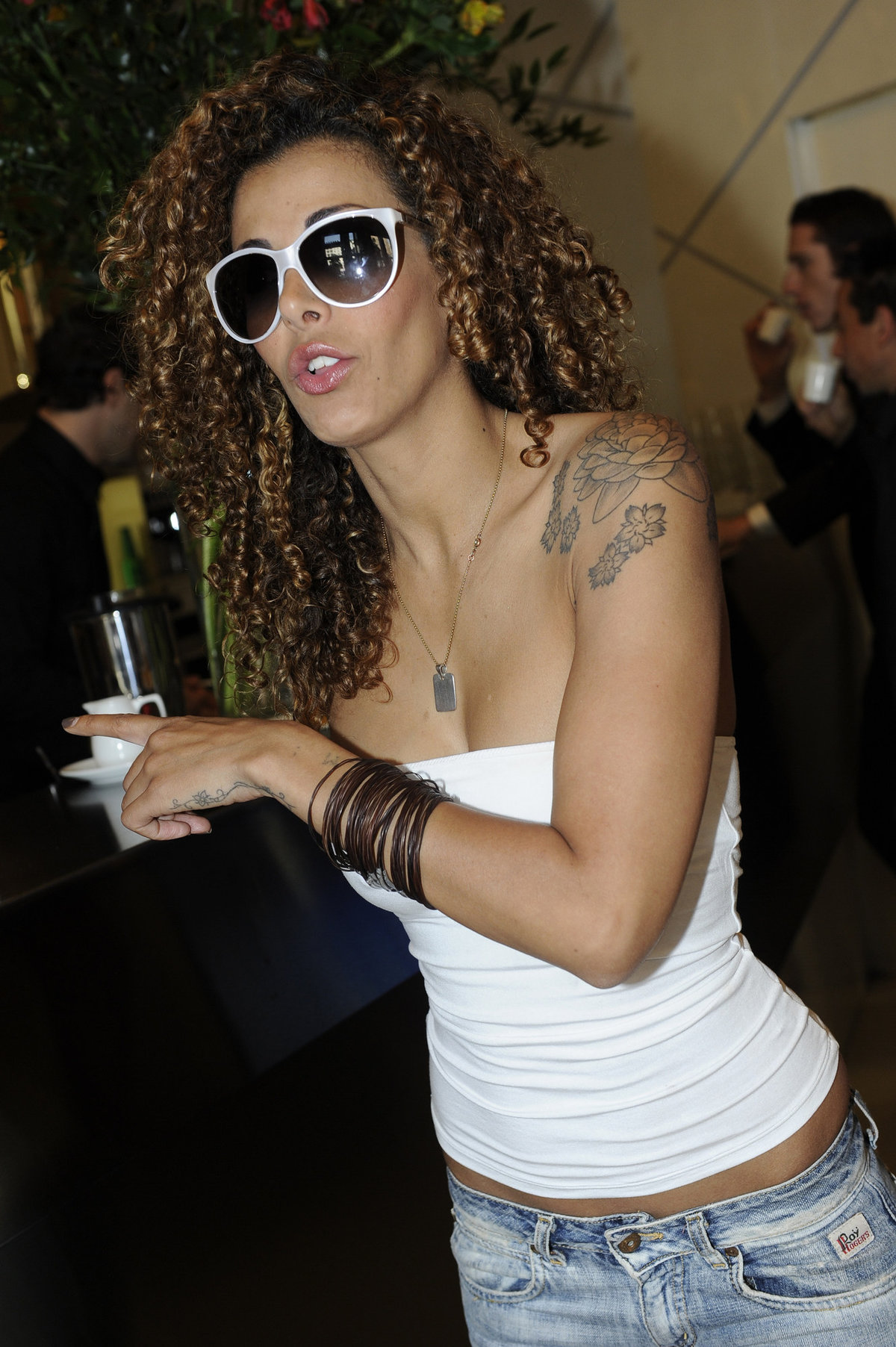 Nora Amile - VIP on Board event in Milan 5/19/11