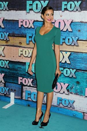 Noureen DeWulf attending the FOX All-Star Party in Hollywood July 23, 2012
