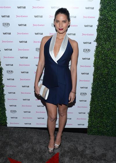 Olivia Munn Vanity Fair & Juicy Couture Celebrate the 2013 Vanities Calendar in LA 2/18/13