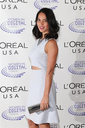 Olivia Munn L'Oreal USA Women In Digital  NET  Generation Awards Ceremony, July 17, 2013