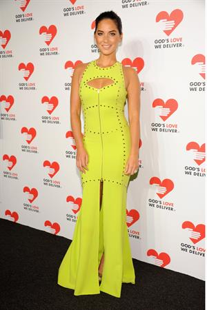 Olivia Munn God's Love We Deliver 2013 Golden Heart Awards Celebration, October 16, 2013