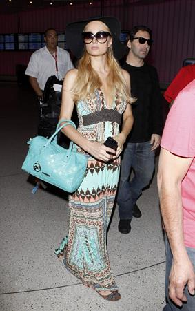 Paris Hilton - At LAX Airport March 31, 2013