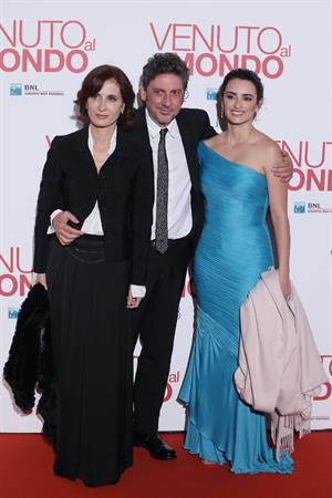 Penelope Cruz Twice Born (Venuto Al Mondo) premiere in Rome - Nov 5, 2012