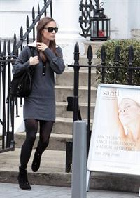 Pippa Middleton - out and about in London 10/17/12