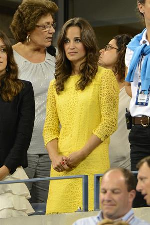 Pippa Middleton - Watching the Men's Singles Quaterfinal US Open in New York Sept 5, 2012