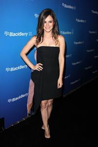 Rachel Bilson Blackberry Z10 Smartphone Launch in LA 3/20/13