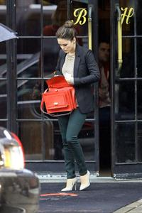 Rachel Bilson  Leaving her hotel in New York City - October 3, 2012