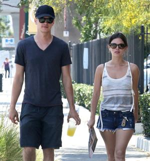 Rachel Bilson - Goes for some shopping with Hayden in L.A. (July 14, 2012)