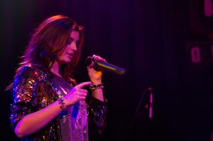 Rebecca Black performing at the House of Blues in Anaheim 12/23/12