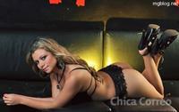 Sandra Trillo in lingerie