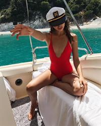 Carolina Sanchez in a bikini