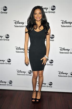 Rochelle Aytes 2013 TCA Winter Press Tour - Disney ABC Television Group Red Carpet Gala (Jan 10, 2013)