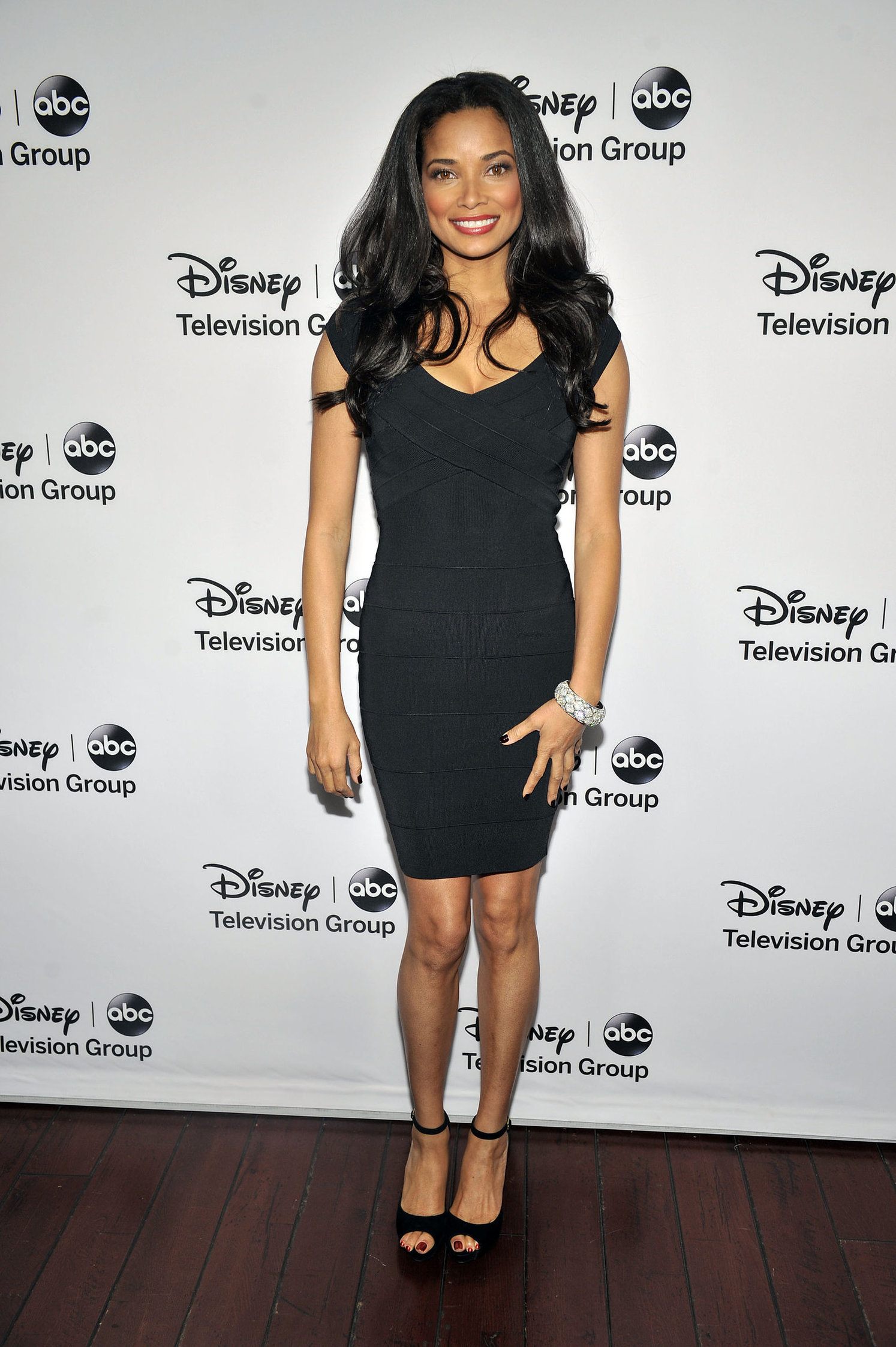 Rochelle Aytes 2013 TCA Winter Press Tour - Disney ABC Television Group Red Carpet Gala (Jan 10, 2013)