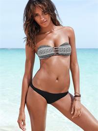 Gracie Carvalho in a bikini