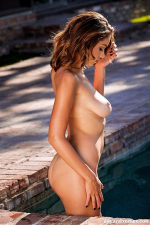 Ali Rose strips down Poolside (Playboy Plus)