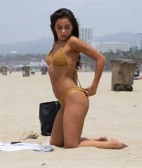 Krislian Rodriguez in a bikini