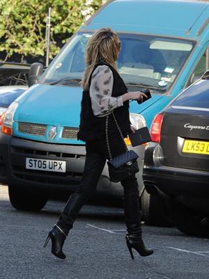 Sarah Harding Primrose Hill - October 12, 2012