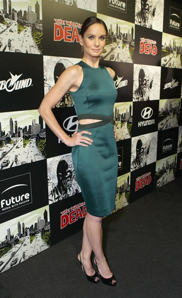 Sarah Wayne Callies - The Walking Dead 100th Issue event at Comic-Con (13 Jul 2012)