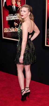 Scarlett Johansson at the  Hitchcock  New York Premiere 11/18/12