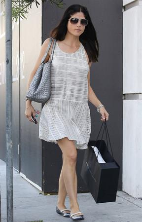 Selma Blair Shops in Beverly Hills - September 29, 2012