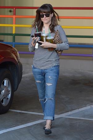 Sophia Bush - Out for Starbucks coffee in LA 12/21/12