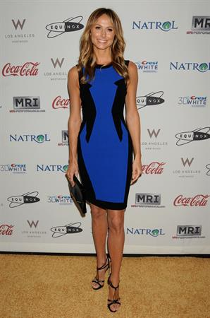 Stacy Keibler Hosts  Gold Meets Golden , 12 Jan 2013