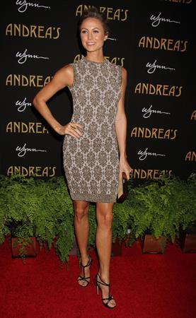 Stacy Keibler Andrea's Grand Opening At Wynn Las Vegas, 16 Jan 2013