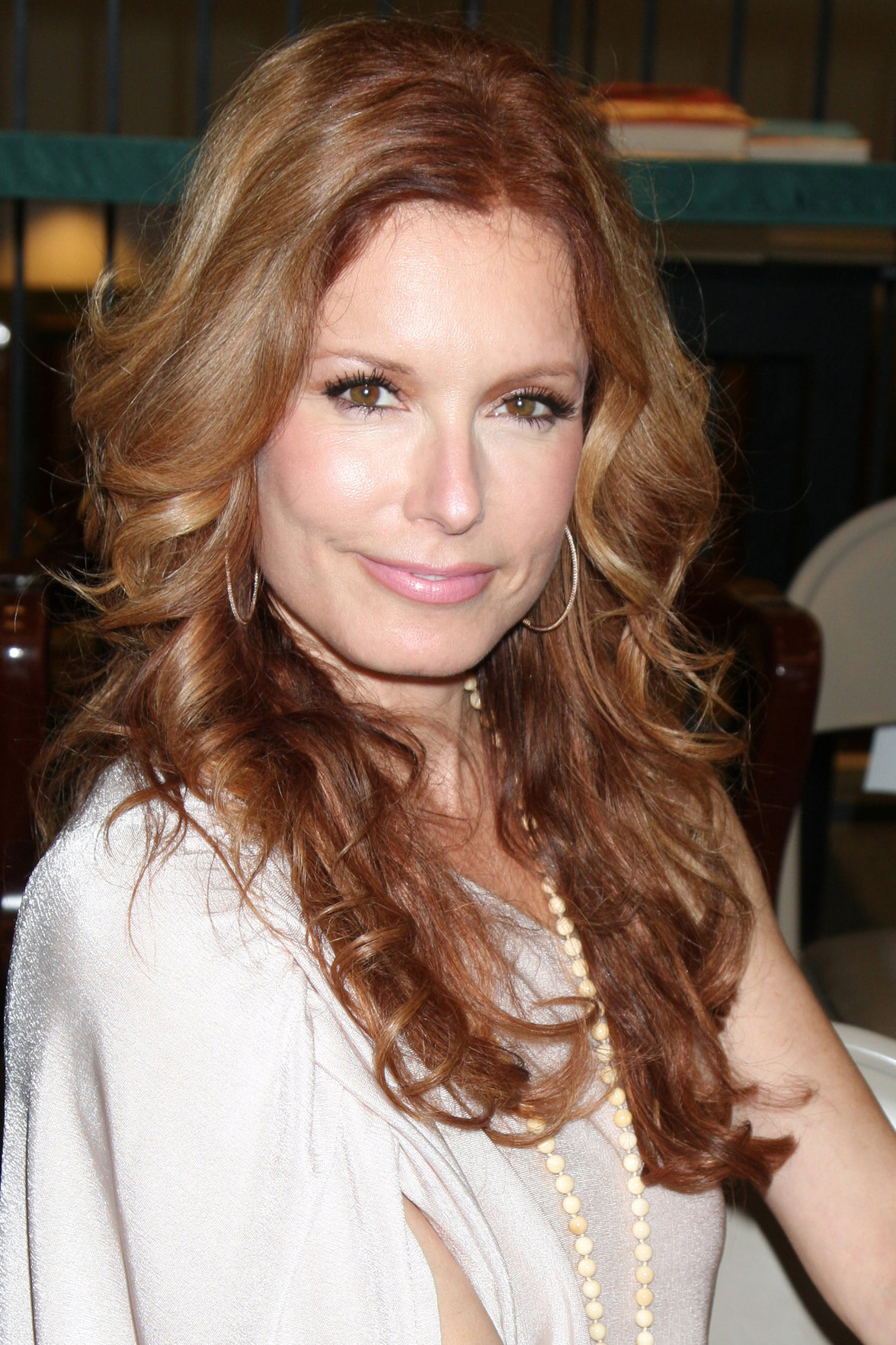 Tracey Bregman - Attends the book signing for William Bell Biography at Barnes & Noble (Aug 18, 2012)