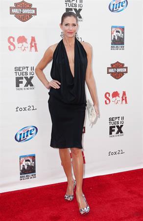 Tricia Helfer - Sons of Anarchy Season 5 Premiere Screening (September 8, 2012)