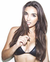 Hailee Lautenbach in a bikini