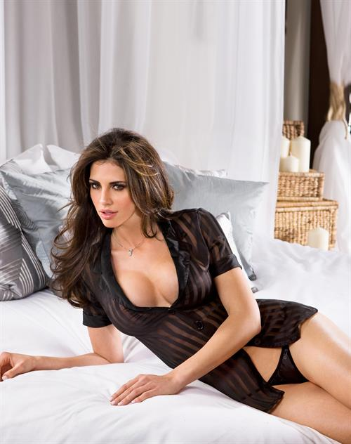Hope Dworaczyk in lingerie