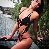 Alana Campos in a bikini