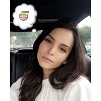 Genesis Rodriguez taking a selfie