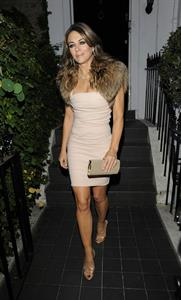 Elizabeth Hurley Woodside End of Summer party to benefit the Elton John AIDS Foundation September 4, 2014