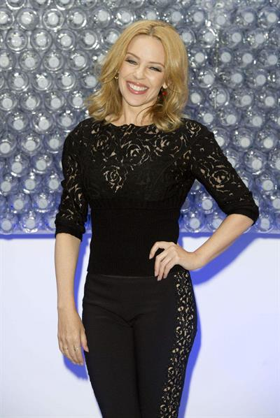 Kylie Minogue UK launch of Glaceau Smartwater August 28, 2014