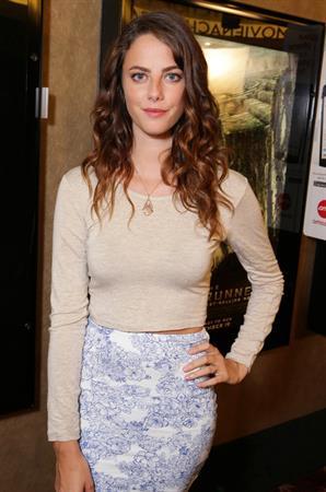 Kaya Scodelario at the advance screening of The Maze Runner August 22, 2014
