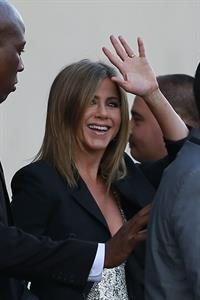 Jennifer Aniston at Jimmy Kimmel Live! in Los Angeles August 27, 2014